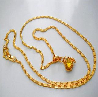Kalung emas 24 karat