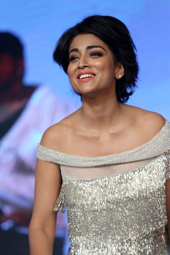 Shriya Saran at Nakshatram Movie Audio Launch Stills