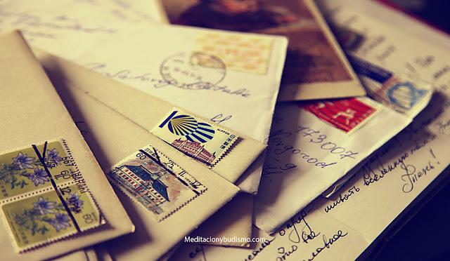 Lee esta carta y sentirás felicidad