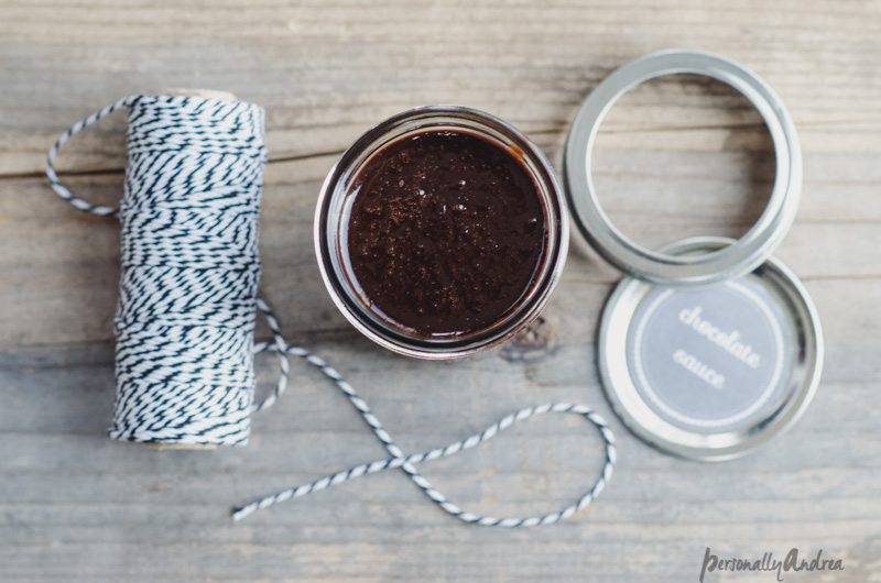 Homemade Chocolate Sauce