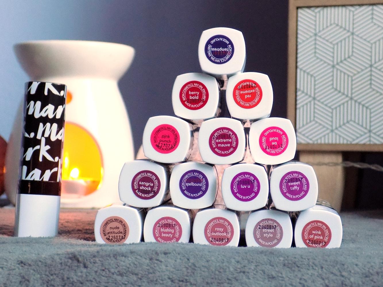 #49 Avon mark - Epic Lip Lipstick - 16 kolorów + swatche!