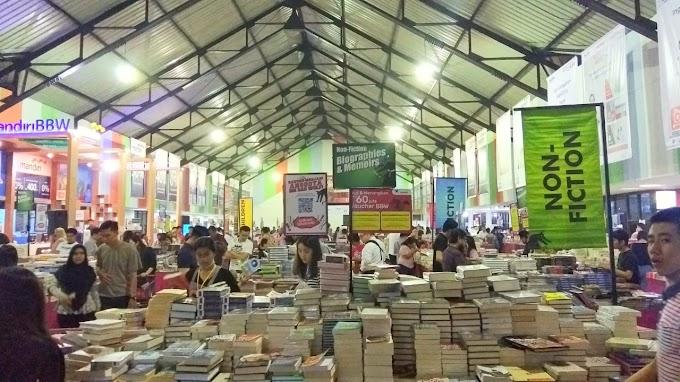 Bersiap dan Berburu Buku di Big Bad Wolf Medan