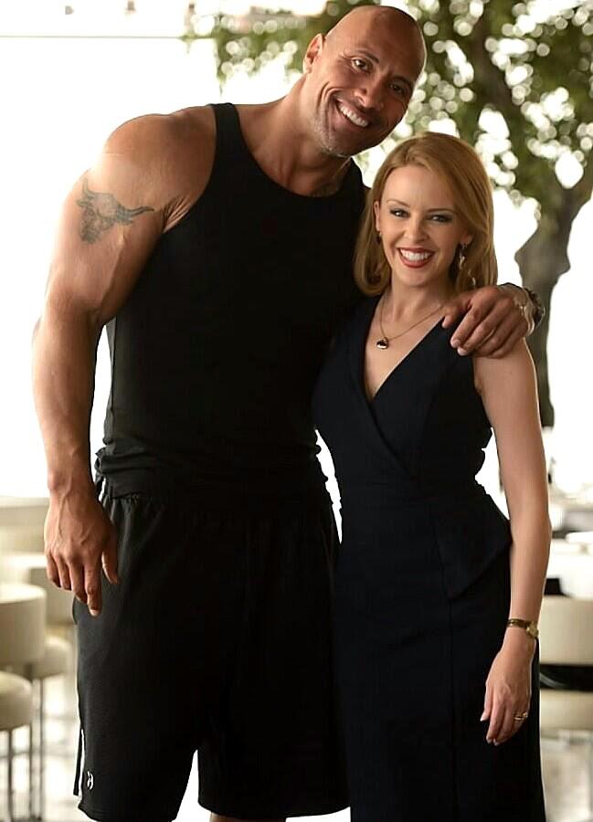 Dwayne Johnson şi Kylie Minogue în thrillerul San Andreas