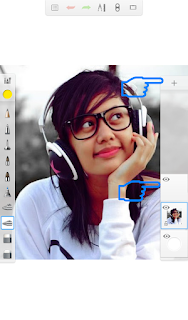 Edit Foto Mozaik di Autodesk Sketchbook
