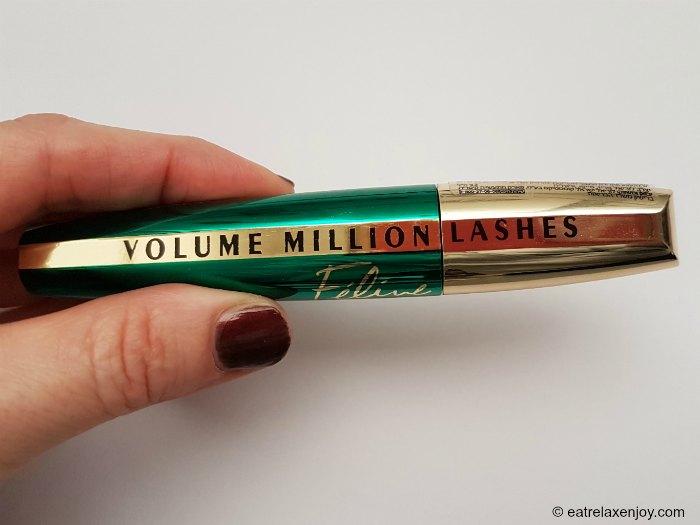 מסקרה חדשה של לוריאל Volume Million Lashes Feline