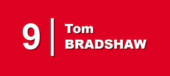IN BRIEF   Bradshaw Limps Off