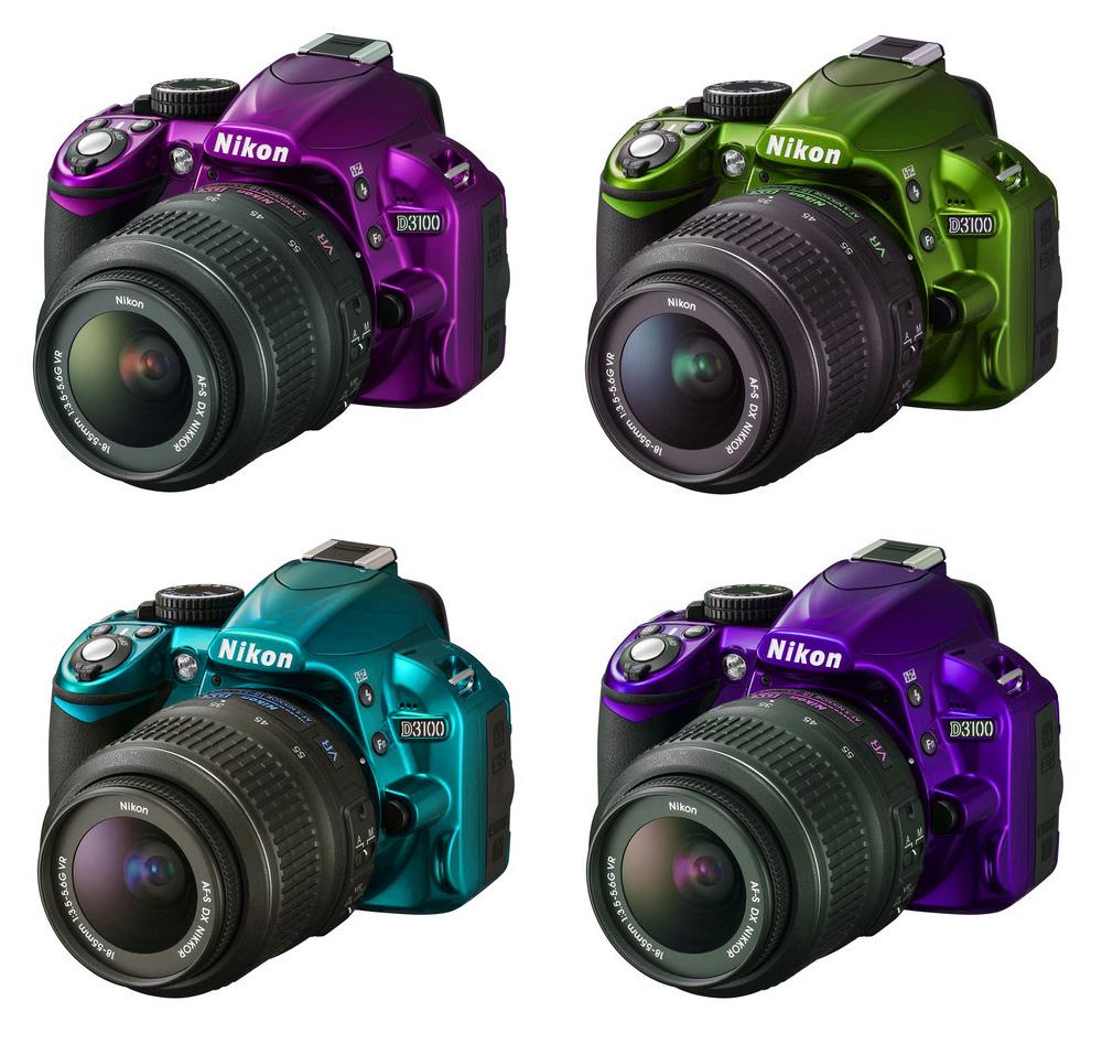 Kamera Pilihanku: Nikon D3100
