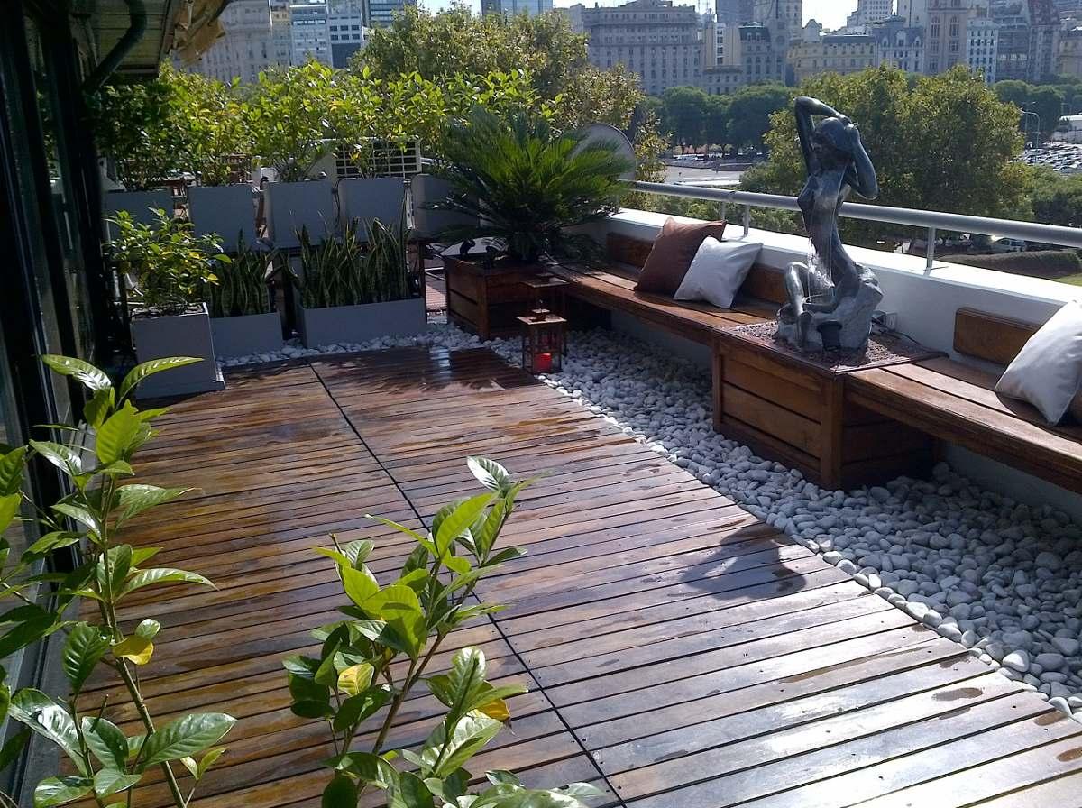 Spazio noi gran jard n en poco spazio for Bancos de terraza y jardin