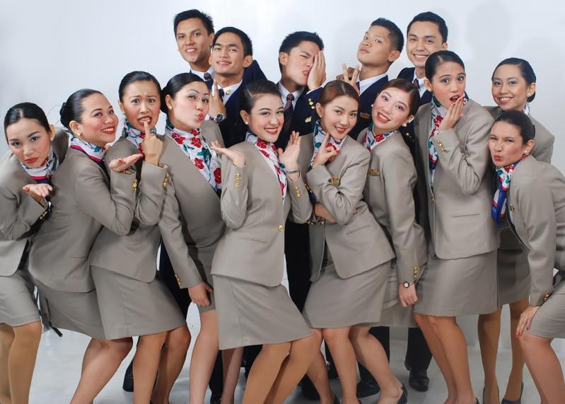 Flight attendant boom in Philippines