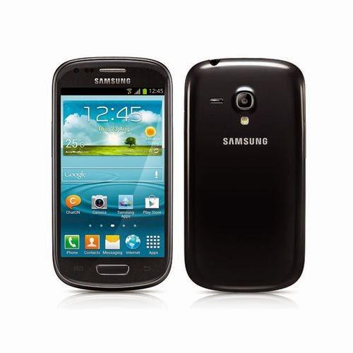 smartphone samsung galaxy s3 mini noir saphir i8190 comparatif smartphones. Black Bedroom Furniture Sets. Home Design Ideas