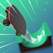 Flippy Skate (Unlimited Crystals - All Unlocked) MOD APK