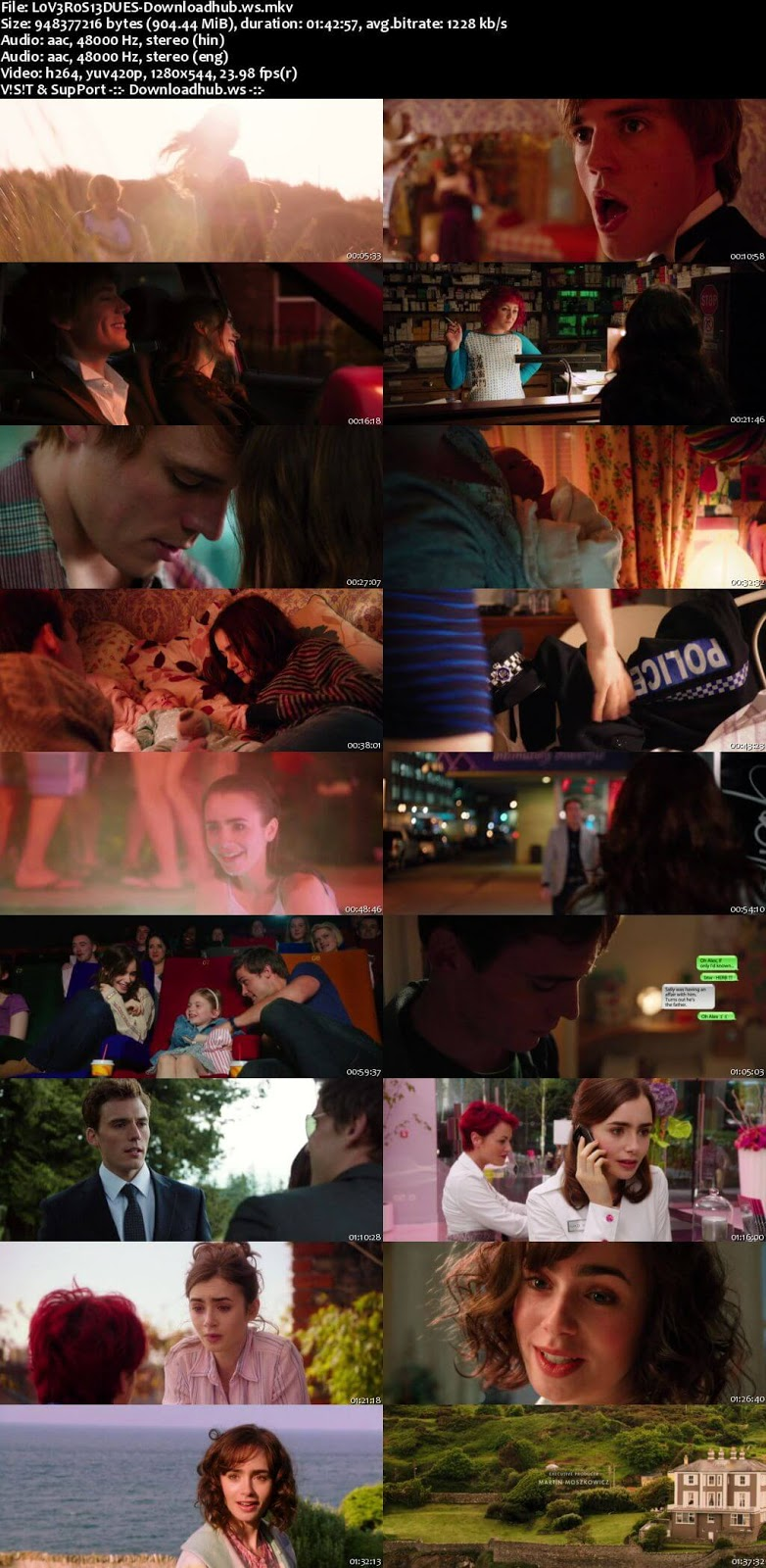 Love, Rosie 2014 Hindi Dual Audio 720p BluRay Free Download