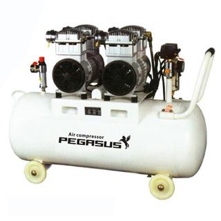 Máy nén khí không dầu Pegasus TM-OF750X2-70L