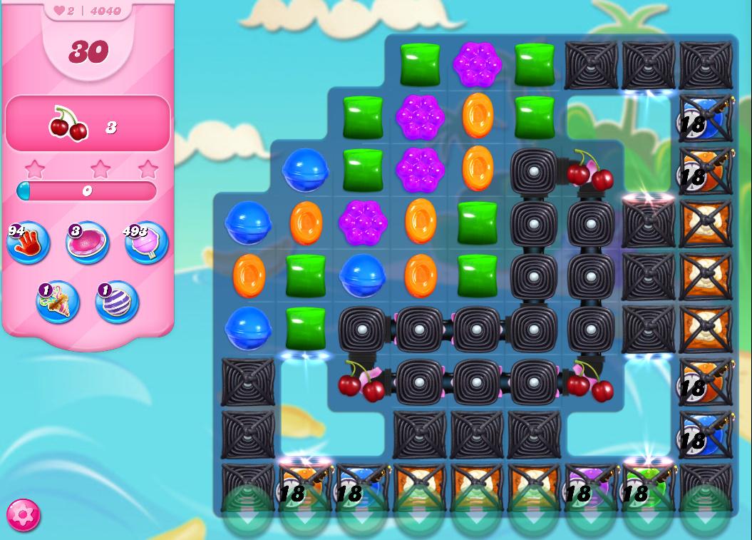 Candy Crush Saga level 4040