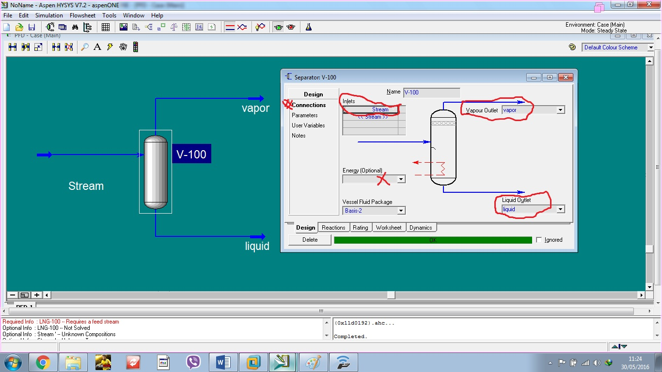 Simulation With Aspen HYSYS: Simulation of Separation Operations