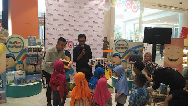 peluncuran hafiz junior di toys kingdom