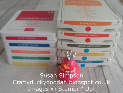 #stampinupuk, Ultimate Guide to new ink pads, Craftyduckydoodah!, Supplies available 24/7 from my online store, Stampin' Up! UK Independent  Demonstrator Susan Simpson, #lovemyjob,