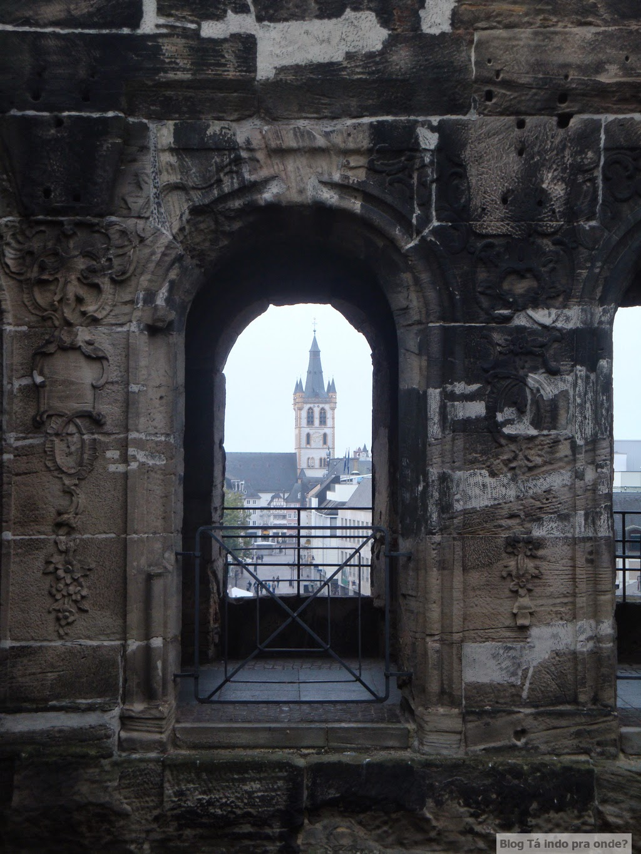 Porta Nigra em Trier, Alemanha