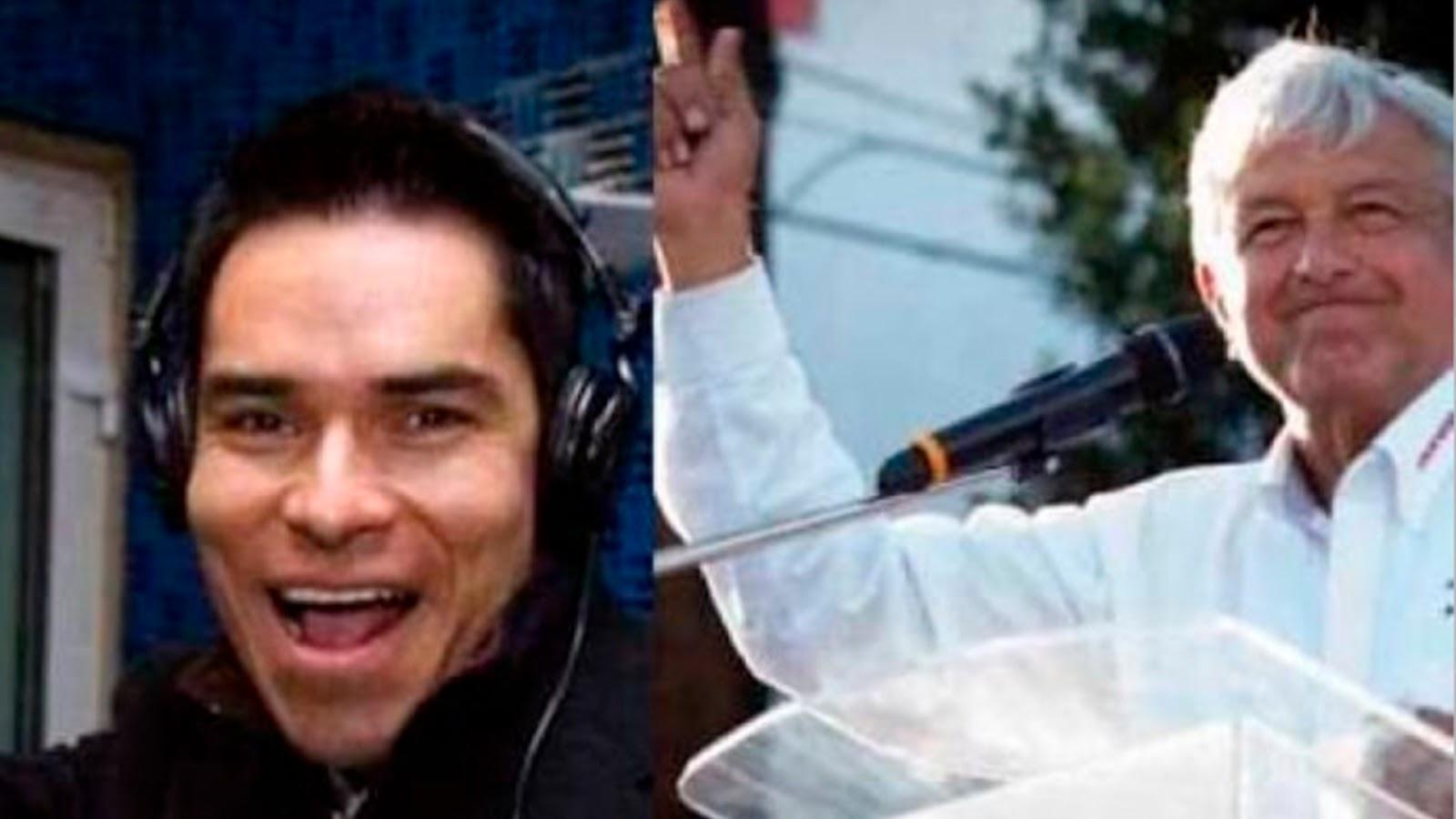 Se arrepiente Toño Esquinca de irse de México tras triunfo de AMLO, anuncia su regreso a la radio.