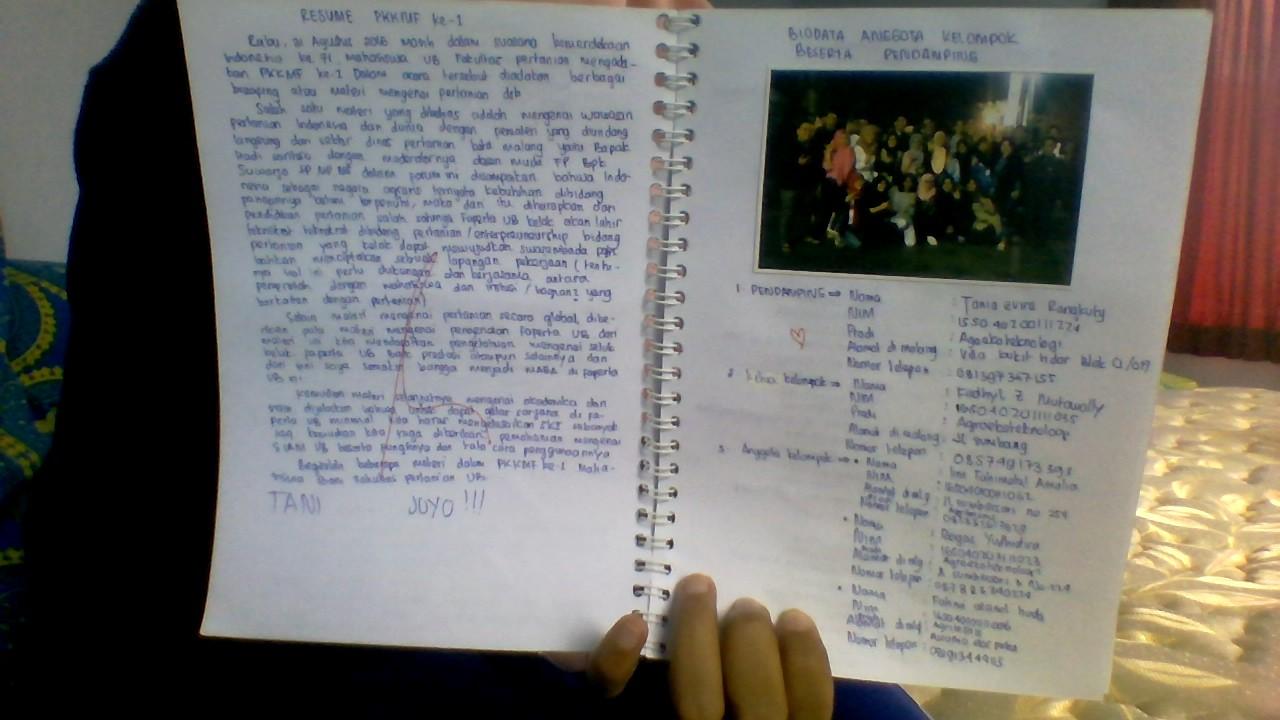 contoh essay tugas ospek ub