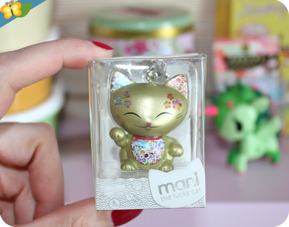 Porte-clefs  Mani the lucky cat
