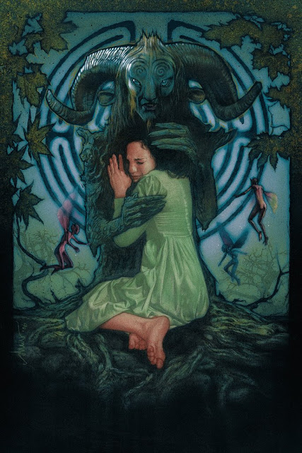 Pan's Labyrinth Art Edition Movie Poster Screen Print by Drew Struzan x Bottleneck Gallery
