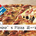 Domino's Pizza 大减价!Regular, Large, Xtra Large Pizzas一律买一送一!