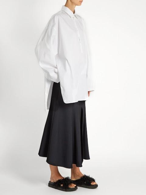 black Rayey midi skirt on Matchesfashion.com