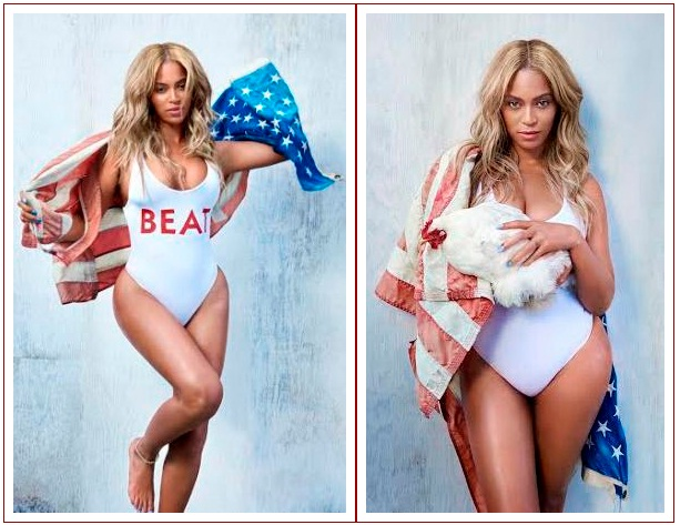 Beyonce covers Beat Magazine's