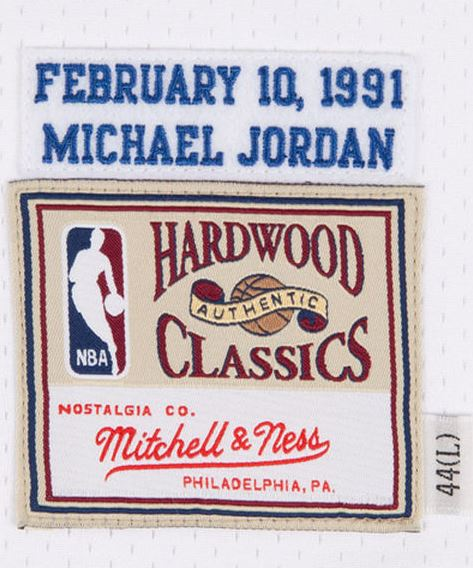 ae460607e33 ... Michael Jordan memories with this Chicago Bulls 1991 All-Star Hardwood  Classics Authentic jersey from Mitchell & Ness Available Now HERE.
