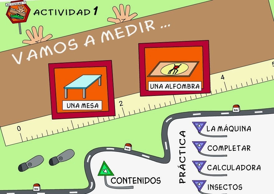 http://www.juntadeandalucia.es/averroes/ies_azahar/MATEMATICAS1/medidas/longitud/a1/menu.html