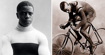 Major Taylor, Black man who was the fastest man in the world