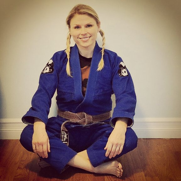 Sally Arsenault BJJ cartoons MMA mixed martial arts