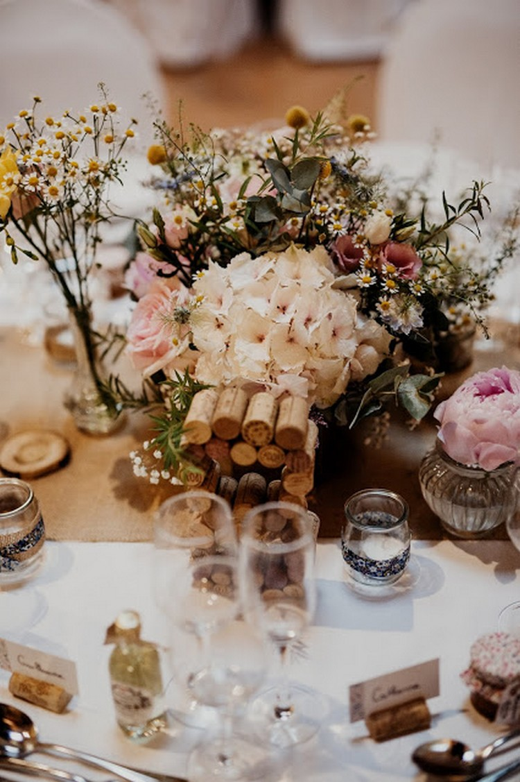 Alisée Omali Photographe, Lyon wedding florist, Real wedding, french wedding style