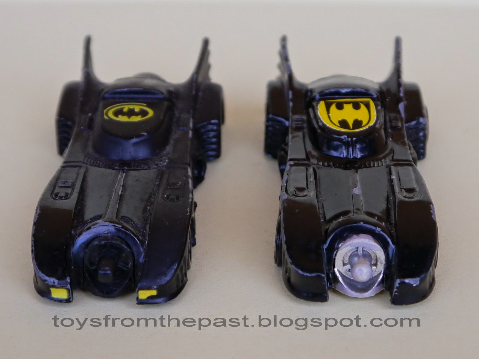 toys from the past 302 ertl metalcar � batmobile 1989