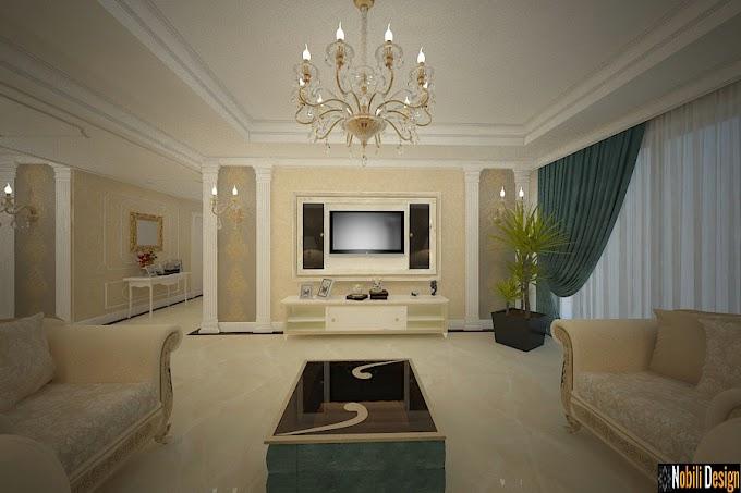Amenajare interioara casa stil clasic de lux in Constanta
