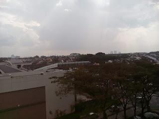 A raining day in malaysiya