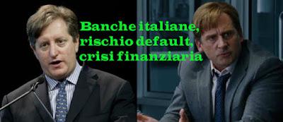 Banche italiane a rischio default previsioni 2017 di crisi finanziaria mondiale per Eisman