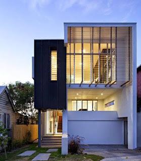 Model Rumah Minimalis 2 Lantai Mewah Modern Terbaru