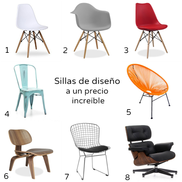 Sillas de dise o molonas a buen precio con superstudio for Sillas de salon de diseno