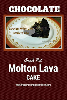 Crockpot Chocolate Molten Lava Pudding Cake Recipe