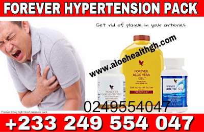 forever-living-products-high blood pressure pack-Arctic sea-garlic thyme-aloe vera gel