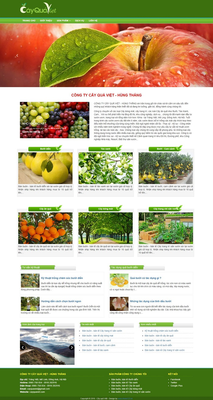 Template blogspot giới thiệu sản phẩm 60