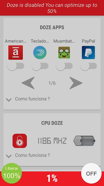 imagens do aplicativo otimizador doze