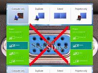 Mengatasi Laptop / Notebook Yang Tidak Konek Proyektor (Infocus)