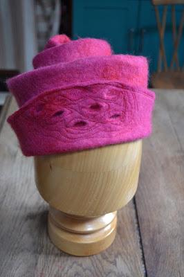 Cours chapeaux en laine feutrée-factory Cathy