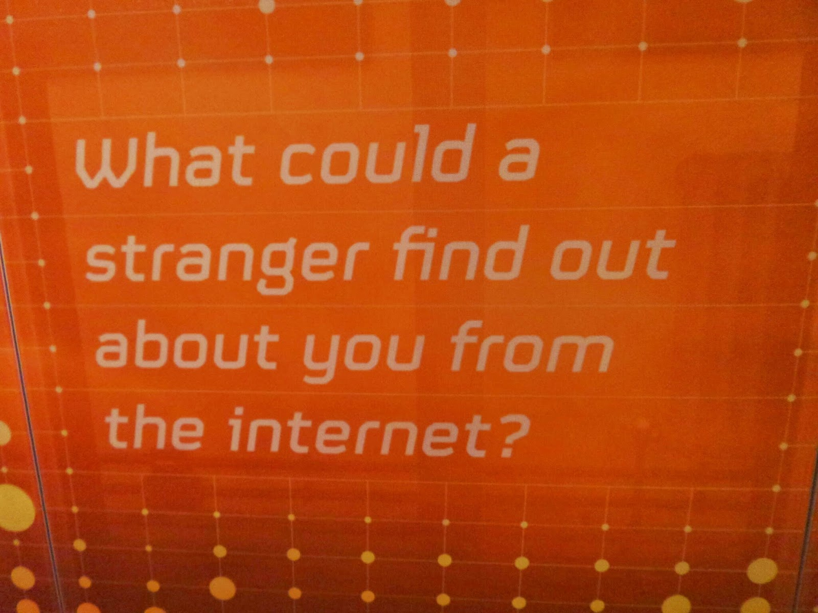 What could a stranger find out about you on the internet?