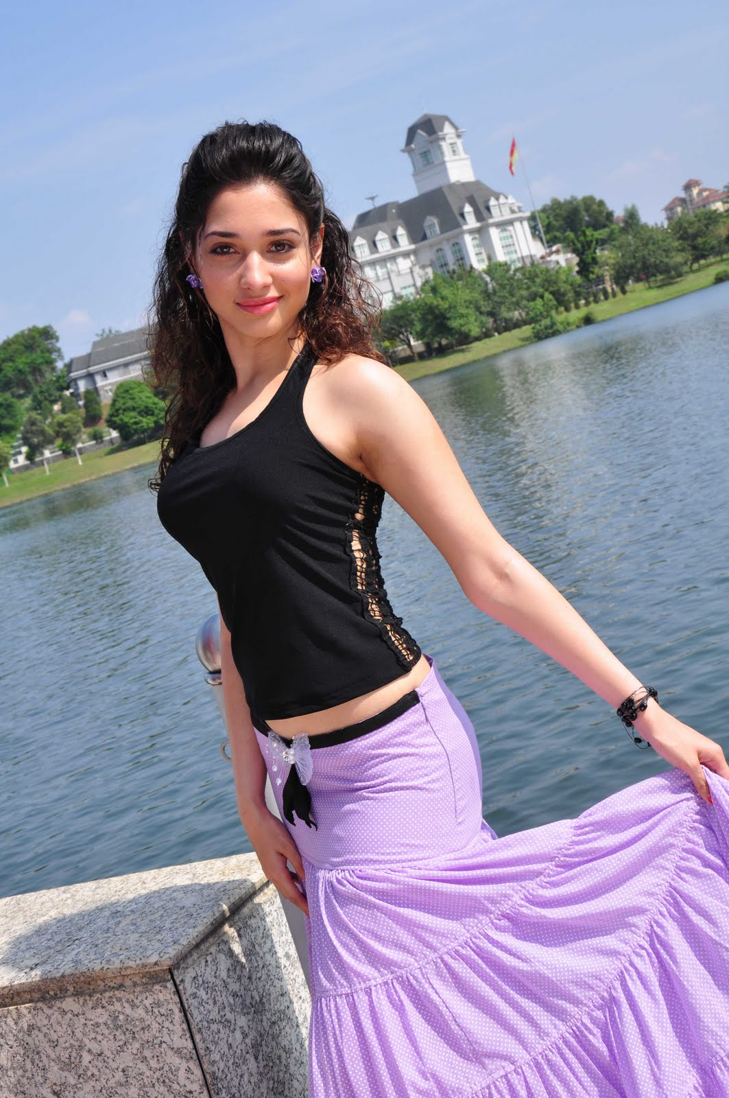 Indian busty with foreigner - 2 5