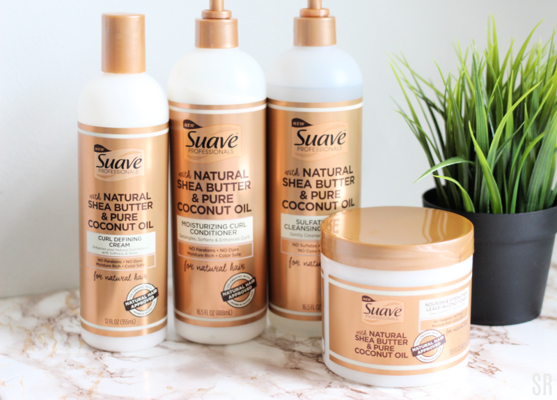 Suave Natural hair care products