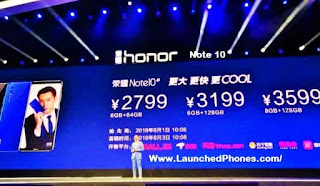 Honor Note 10 images
